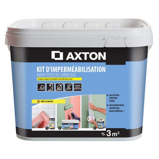 Kit Impermeabilisation Axton Vert 3m 3kg Leroy Merlin