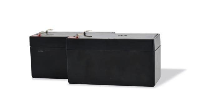 Kit 2 Batteries De Secours 12 24v Pour Motorisation De Portail Scs Sentinel Leroy Merlin
