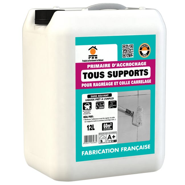 Primaire D Accrochage Sol Tous Supports Prb 12 L Leroy Merlin