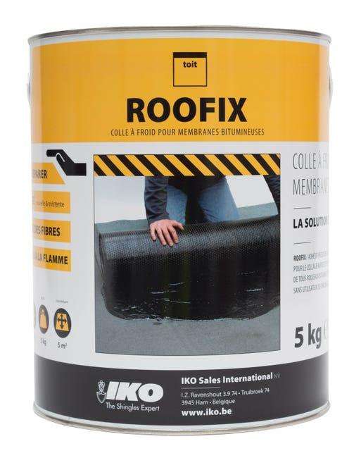 Colle Iko Roofix 5 L Noir Leroy Merlin