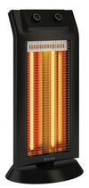 Poêle à infrarouge OLIMPIA SPLENDID Carbon black 1100 W
