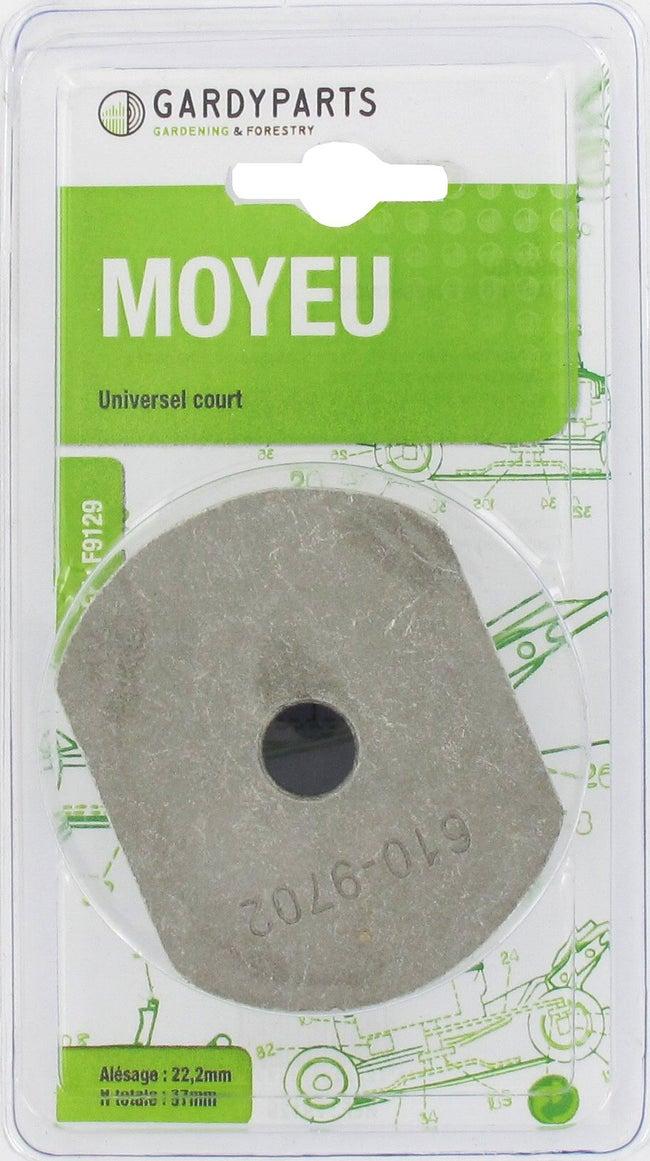 Porte Lame Universelle Court Alésage Central 222mm Sous Coque