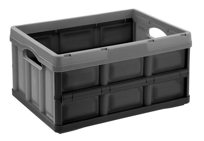 casier tontarelli plastique gris l 47 5 x p 35 2 x h 23 5
