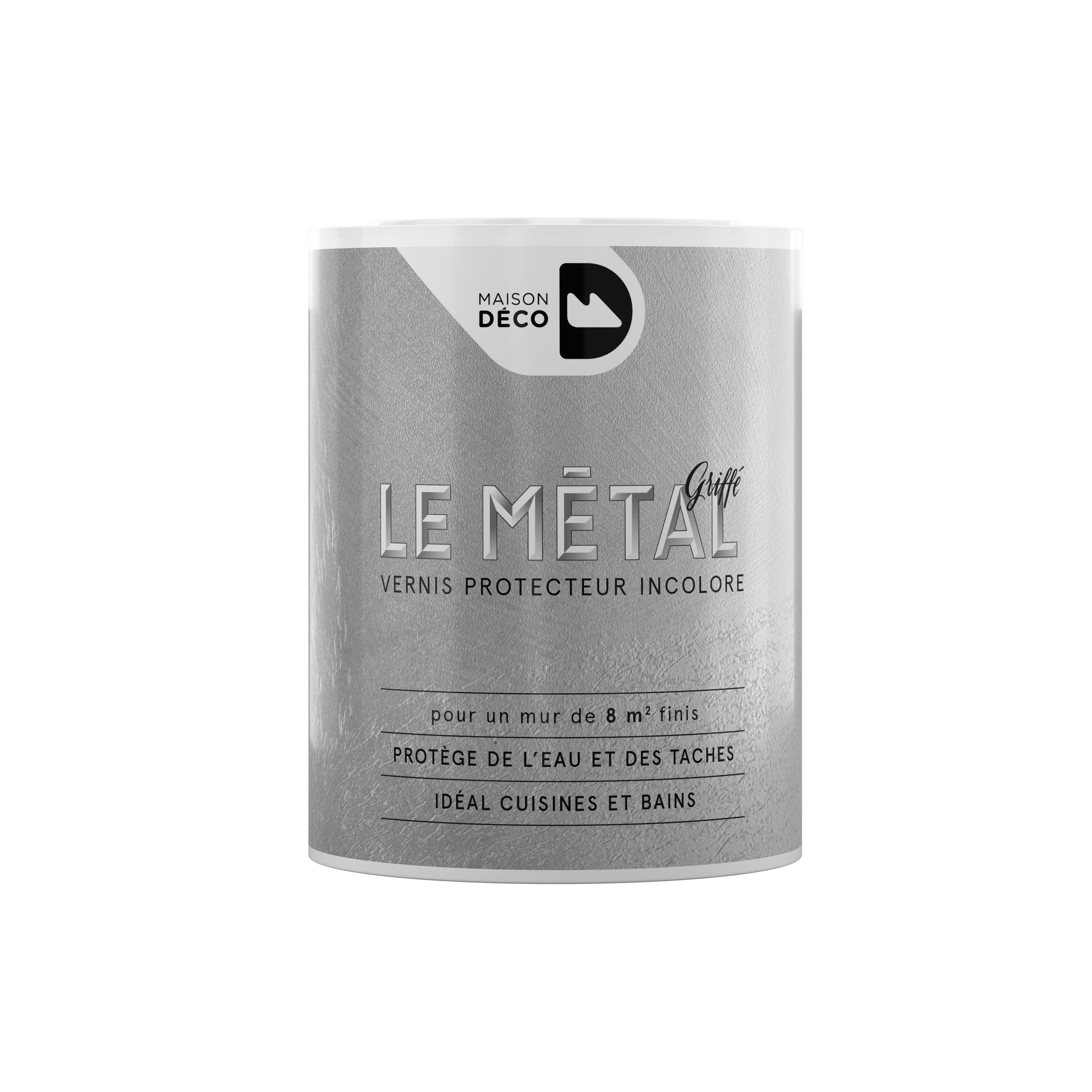 Peinture A Effet Le Metal Griffe Maison Deco 0 75 L Leroy Merlin