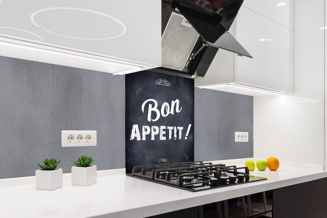 Fond De Hotte Métal Bon Appétit H 70 Cm X Ep 9 Mm X L 60 Cm Leroy Merlin