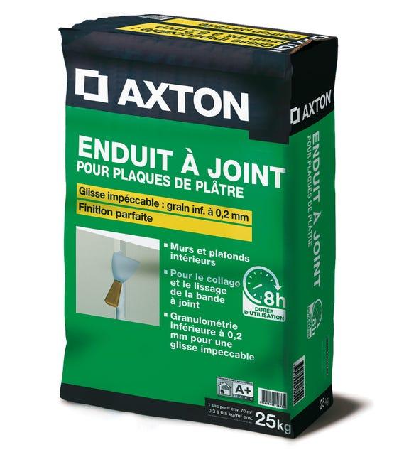 Enduit A Joint Pour Plaque De Platre Fassajoint 8h Axton 25 Kg Leroy Merlin