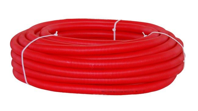 Tube D Alimentation Gaine Per Rouge Diam 10 X 12 Mm En Couronne De 15 M Leroy Merlin