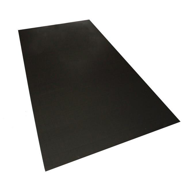Plaque Polypropylene Alveolaire 3 Mm Noir Lisse L 200 X 100 Cm