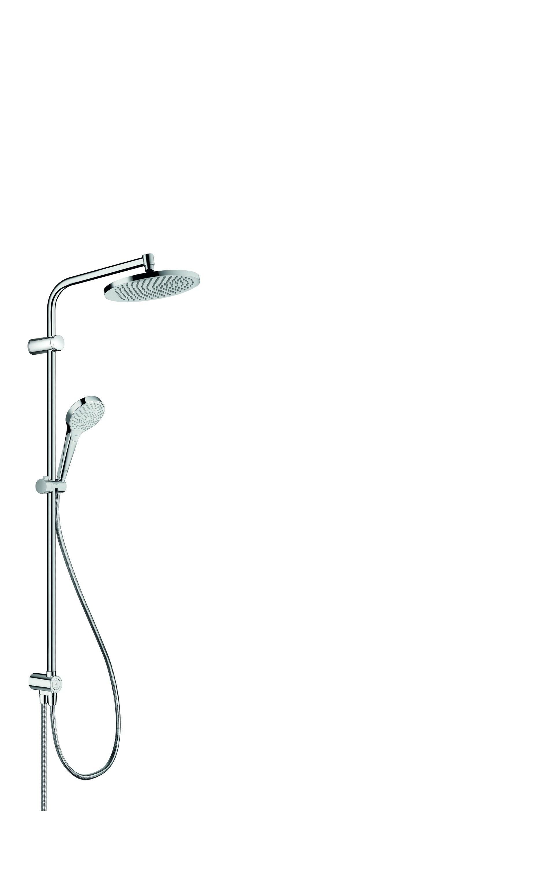 colonne de douche hansgrohe lmh s240 sans robinetterie