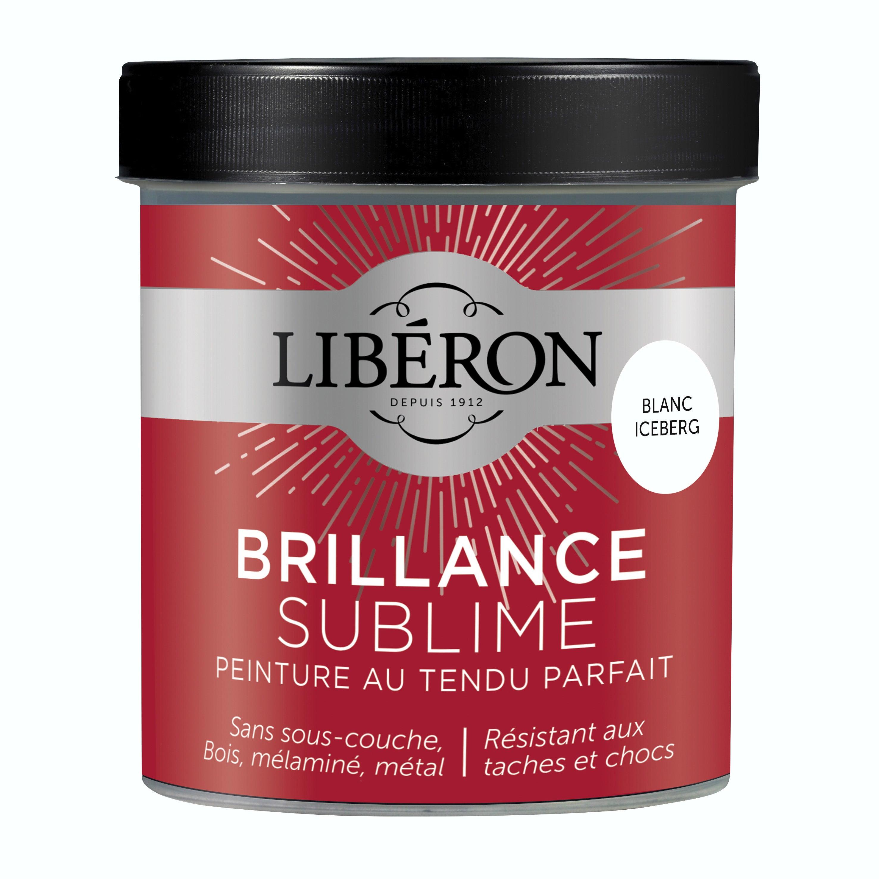 Peinture Meuble Et Boiserie Brillance Sublime Liberon Blanc Iceberg Laque 0 5 L Leroy Merlin