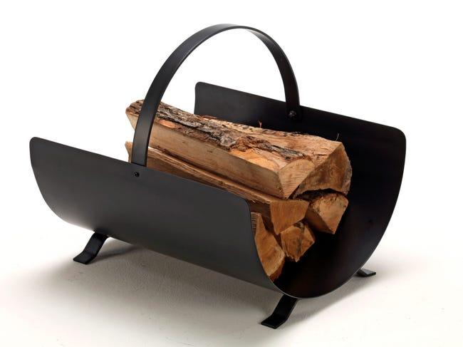 Range Buches Noir Fire Arcade L 40 X H 35 Cm Leroy Merlin