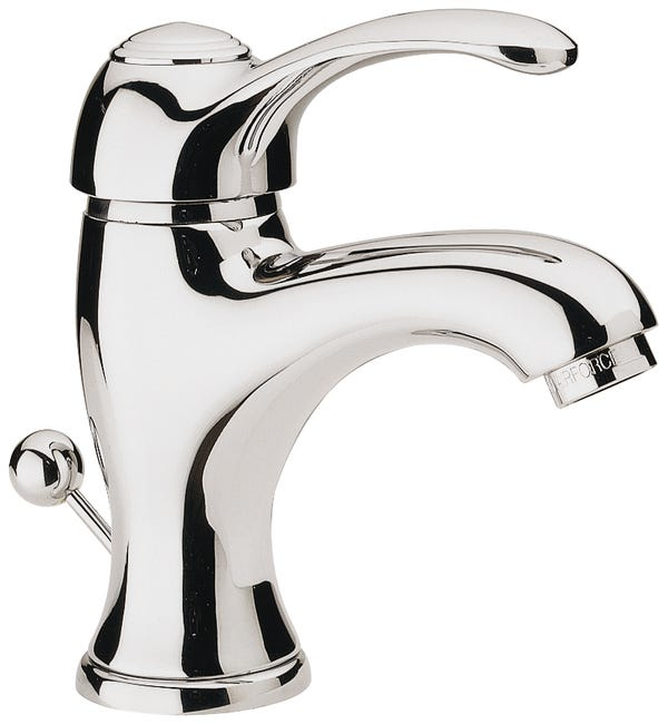 Mitigeur De Lavabo Chrome Brillant Remer Retro Leroy Merlin
