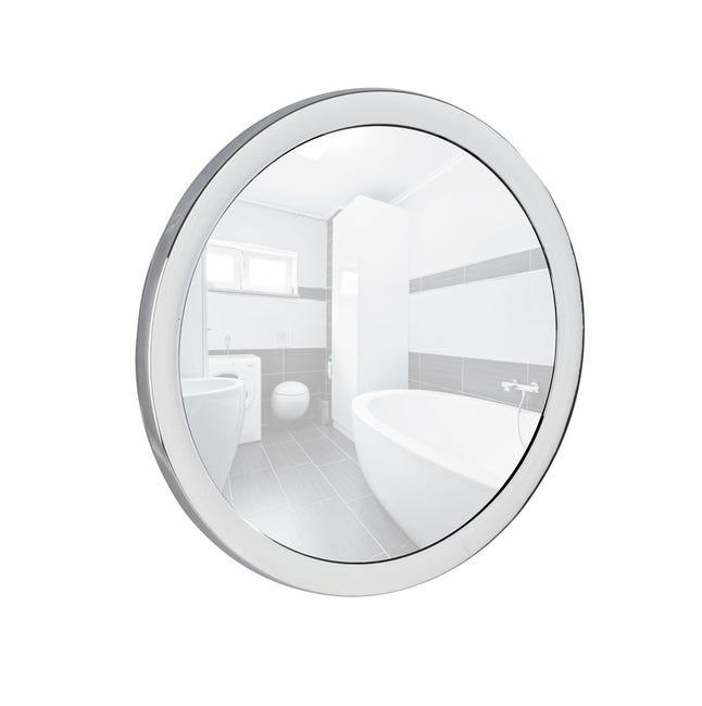Miroir Grossissant X 5 Rond Ventouse H 14 5 X L 14 5 X P 3 5 Cm Pistoia Leroy Merlin
