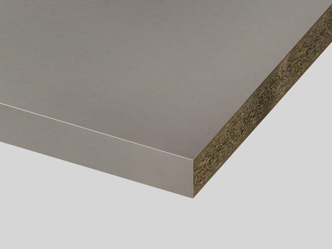 Plan De Travail Stratifie Natural Stone Taupe Mat L 315 X P 65 Cm