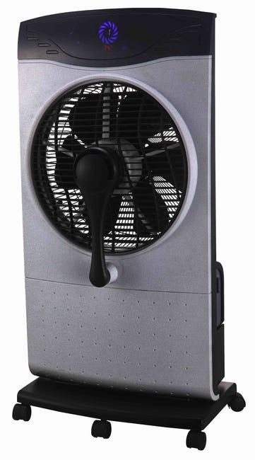 Ventilateur Brumisateur Sur Pied Domair Factory D 40 Cm 100 W Leroy Merlin
