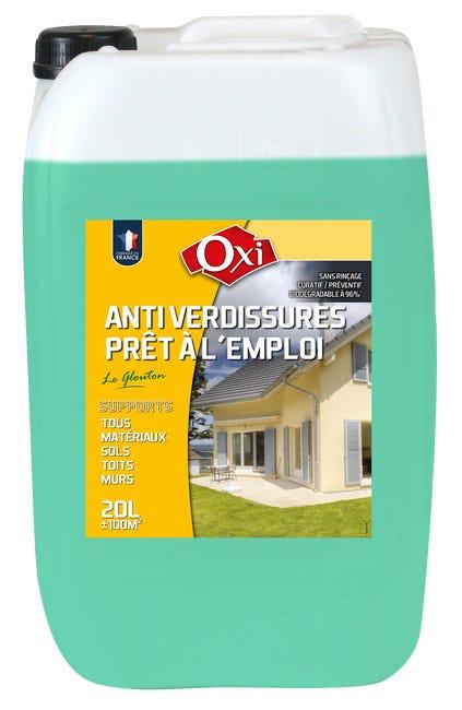 Traitement Anti Depots Verts Facade Oxytol 20 L Le Glouton Leroy Merlin