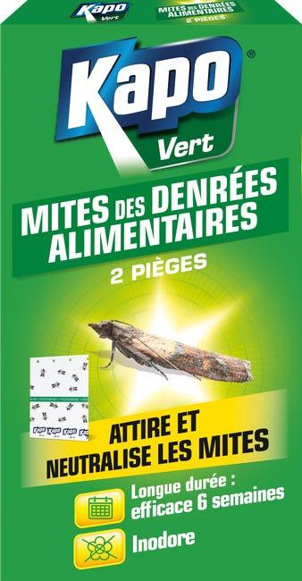 Lot De 2 Pieges Lot De 2 Pieges Insecticides Pour Mites Alimentaires Kapo Leroy Merlin
