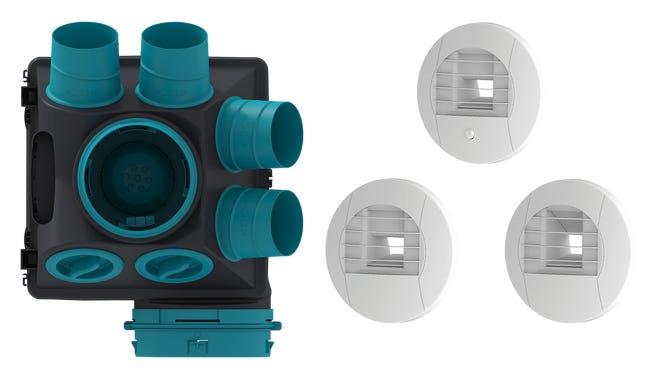 Kit Vmc Simple Flux Hygroreglable Gauli 2 Sauter Leroy Merlin