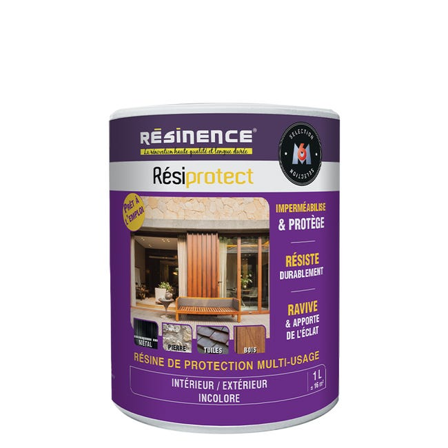 Resine Etancheite Resiprotect Resinence Transparent 1l Leroy Merlin