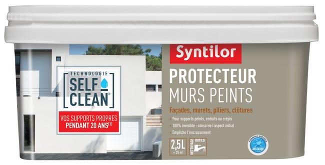 Impermeabilisant Facade Protecteur Murs Peints Self Clean Incolore 2 5l Leroy Merlin
