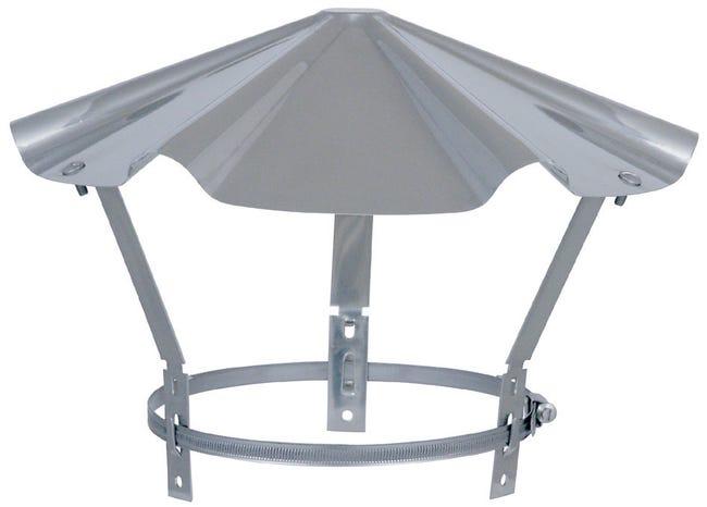 Chapeau Pare Pluie Simple Isotip Joncoux 130 Mm Leroy Merlin