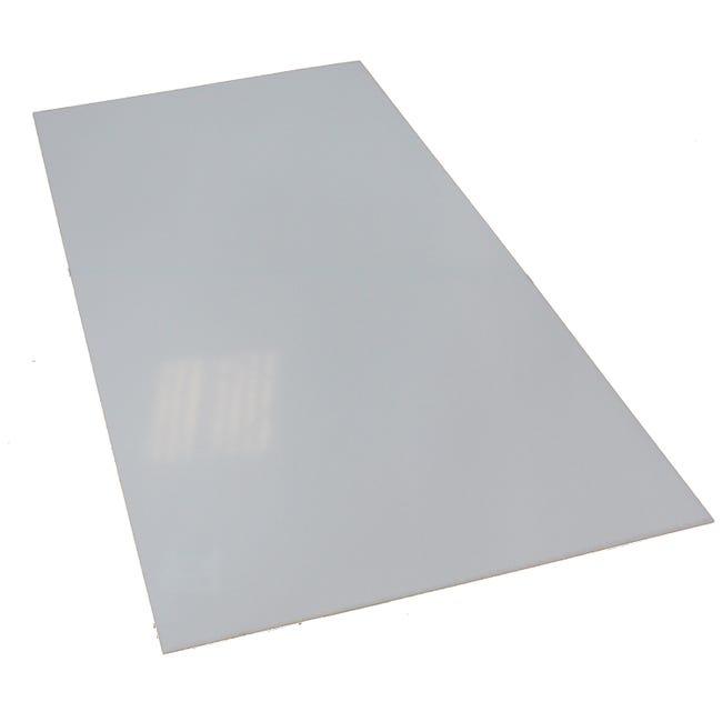 Plaque Polystyrene 2 5 Mm Blanc Lisse L 100 X 200 Cm Leroy Merlin