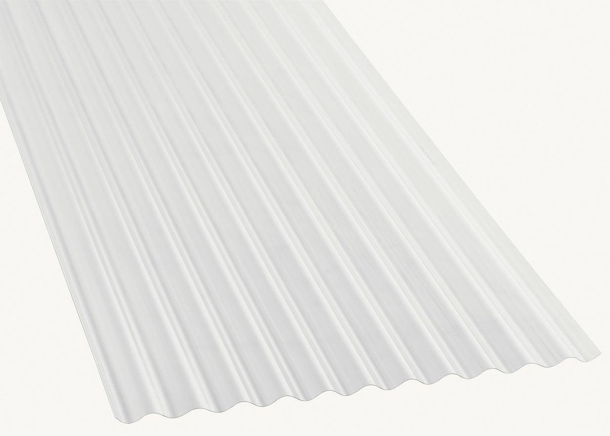 Plaque De Toiture Grande Onde Polycarbonate Translucide L 0 9 X L 3 M Leroy Merlin