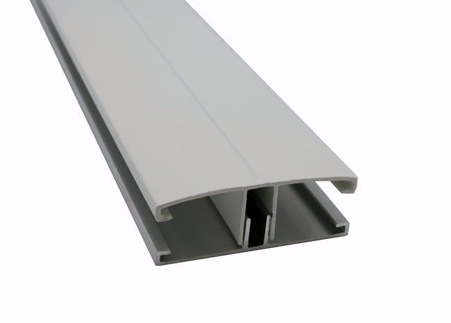 Profil Jonction Pour Plaque Ep 16 32 Mm Blanc L 3 M Leroy Merlin