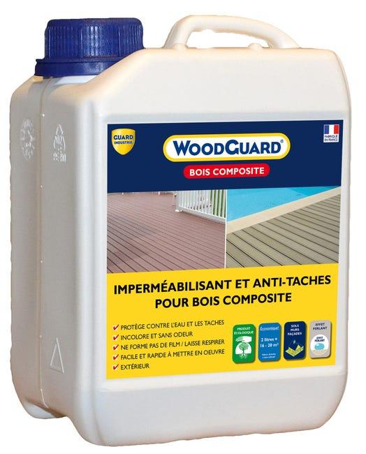 Impermeabilisant Woodguard Bois Composite 2l Guard Industrie Incolore Leroy Merlin