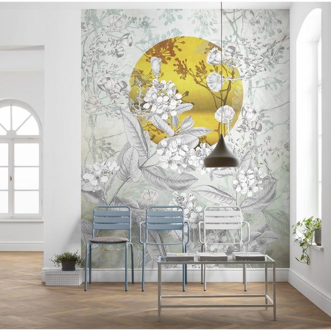 Papier peint panoramique Karma intissé l.200 x H.250 cm   Leroy Merlin