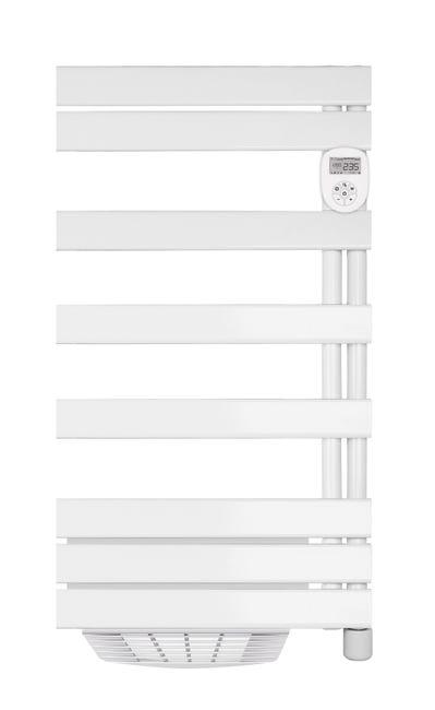 Seche Serviettes Electrique Heallux 1500w H 107 X L 55 Cm Cassiope Leroy Merlin