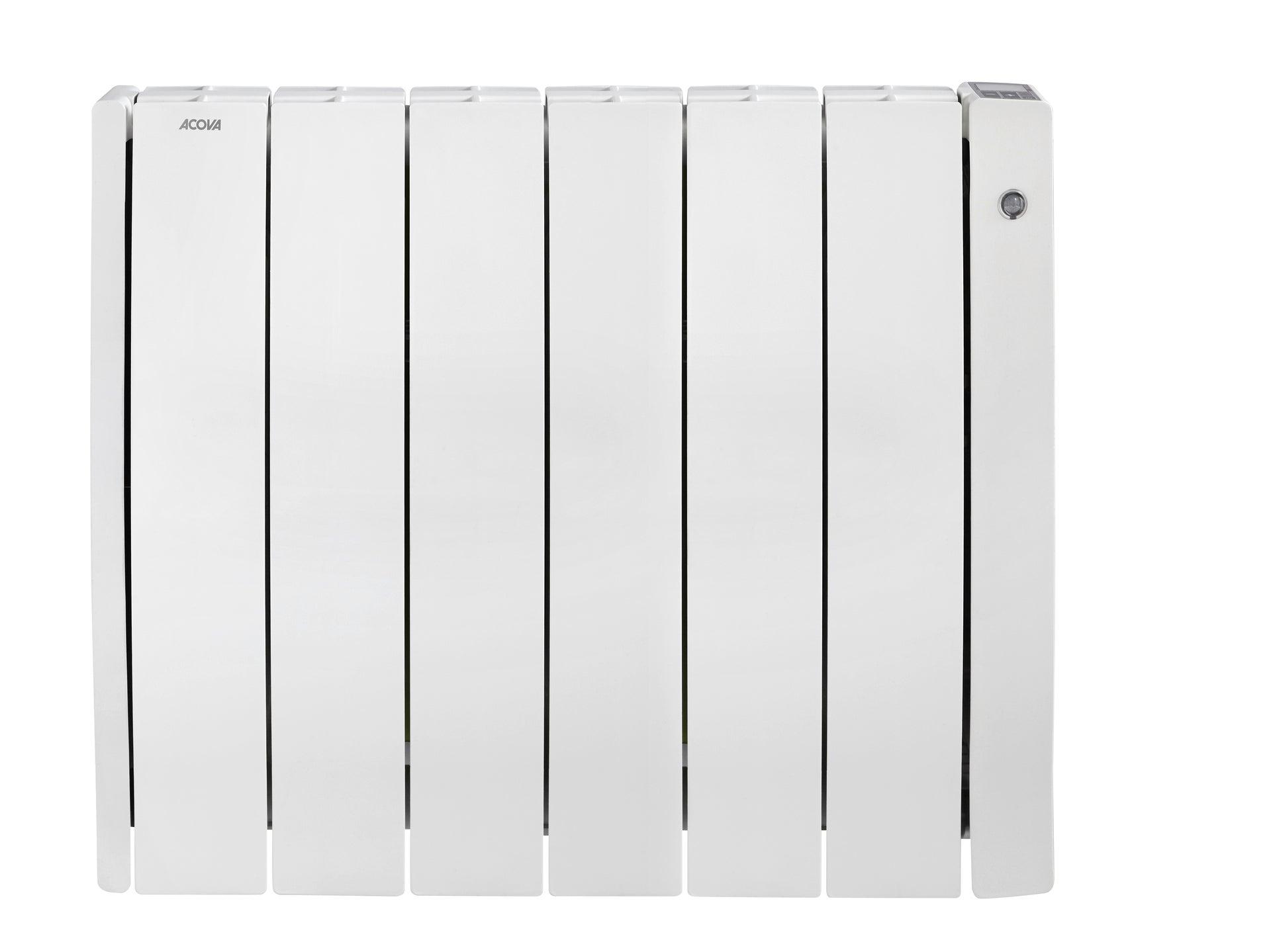 Radiateur Electrique A Rayonnement 1500 W Sauter Sundoro Horizontal Blanc Leroy Merlin